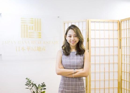 專訪:日本華房地產集團胡凱淇