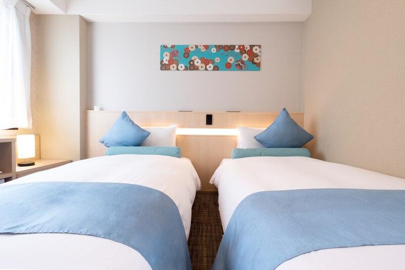 大阪中央区商务酒店 - 卧室