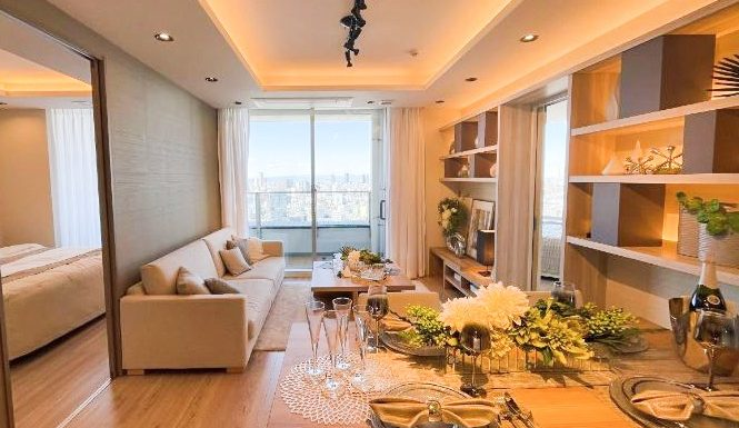 Shirokane-Takanawa Shirokane Tower – High Floor 3 Bedrooms Apartment