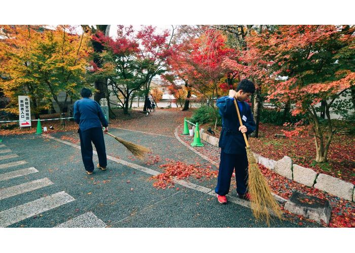 東京清潔乾淨街道