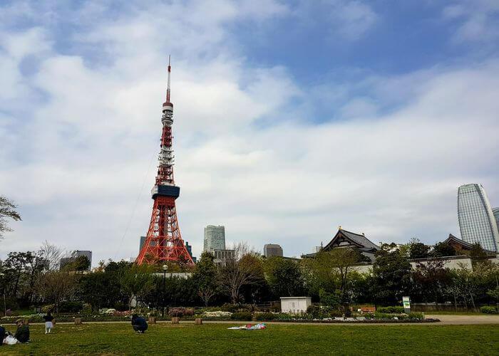 Tokyo Tower Shiba Park