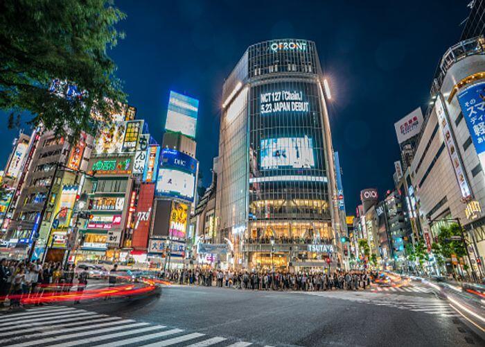 TokyoShibuya Crossing